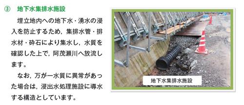 (3) 地下水集排水施設