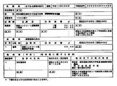 選挙事務所設置届出書2