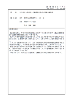 陳情第3077号