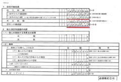収支の総括表