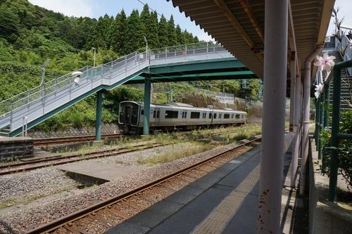 JR鹿児島線の電車