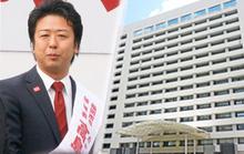 高島市長、福岡市役所