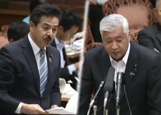 佐藤参院議員、中谷防衛相